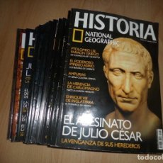 Coleccionismo de National Geographic: HISTORIA NATIONAL GEOGRAPHIC 17 NUMEROS + 1 VIAJES NATIONAL GEOGRAPHIC - DISPONGO DE MAS REVISTAS. Lote 244519805