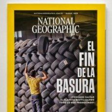 Coleccionismo de National Geographic: NATIONAL GEOGRAPHIC ESPAÑA - MARZO 2020 - EL FIN DE LA BASURA. Lote 245100175