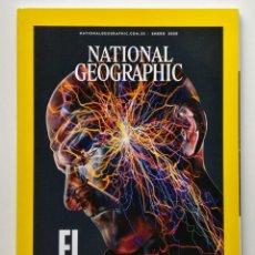 Coleccionismo de National Geographic: NATIONAL GEOGRAPHIC ESPAÑA - ENERO 2020 - EL DOLOR. Lote 245102255