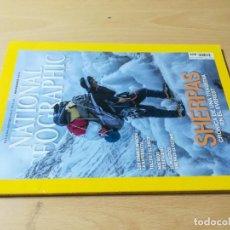Coleccionismo de National Geographic: NATIONAL GEOGRAPHIC / SHERPAS / NOVIEMBRE DE 2014 / U+406. Lote 245637460
