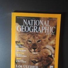 Coleccionismo de National Geographic: REVISTA NATIONAL GEOGRAPHIC JUNIO 2001. Lote 246096650