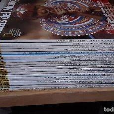 Coleccionismo de National Geographic: LOTE 20 REVISTAS RUTAS DEL MUNDO - NÚM DEL 1 AL 20. DESDE 1989. IMPECABLES!. Lote 246226040