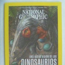 Coleccionismo de National Geographic: REVISTA NATIONAL GEOGRAPHIC, OCT. 2020 : NUEVA VISION DINOSAURIOS, ESLOVENIA, GLOTONES, ETC. Lote 246270740