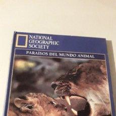 Coleccionismo de National Geographic: COLECCIÓN PARAISOS DEL MUNDO ANIMAL. Lote 246449520