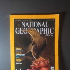 Coleccionismo de National Geographic: REVISTA NATIONAL GEOGRAPHIC MARZO 2003. Lote 246521905