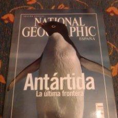 Coleccionismo de National Geographic: NATIONAL GEOGRAPHIC ANTÁRTIDA LA ÚLTIMA FRONTERA. Lote 246572080