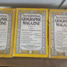 Coleccionismo de National Geographic: 3 REVISTAS DE THE NATIONAL GEOGRAPHIC MAGAZINE, AÑOS 1933 Y 1934 (BOLS 4). Lote 248663245