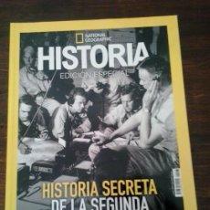 Collectionnisme de National Geographic: LMV - NATIONAL GEOGRAPHIC. HISTORIA SECRETA DE LA SEGUNDA GUERRA MUNDIAL, PARTE 1. Lote 249529140