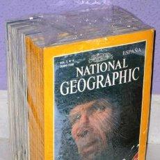 Coleccionismo de National Geographic: LOTE 15 PRIMEROS NÚMEROS REVISTA NATIONAL GEOGRAPHIC EN EDICIÓN ESPAÑOLA ENTRE 1997 Y 1998. Lote 30839832