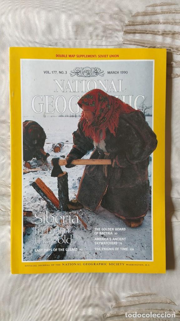 REVISTA NATIONAL GEOGRAPHIC, VOL. VOLUMEN 177, Nº 3; MARCH MARZO 1990 (EN INGLES) (Coleccionismo - Revistas y Periódicos Modernos (a partir de 1.940) - Revista National Geographic)