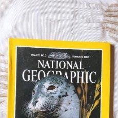 Coleccionismo de National Geographic: REVISTA NATIONAL GEOGRAPHIC, VOL. VOLUMEN 177, Nº 2; FEBRUARY FEBRERO 1990 (EN INGLES). Lote 251942220