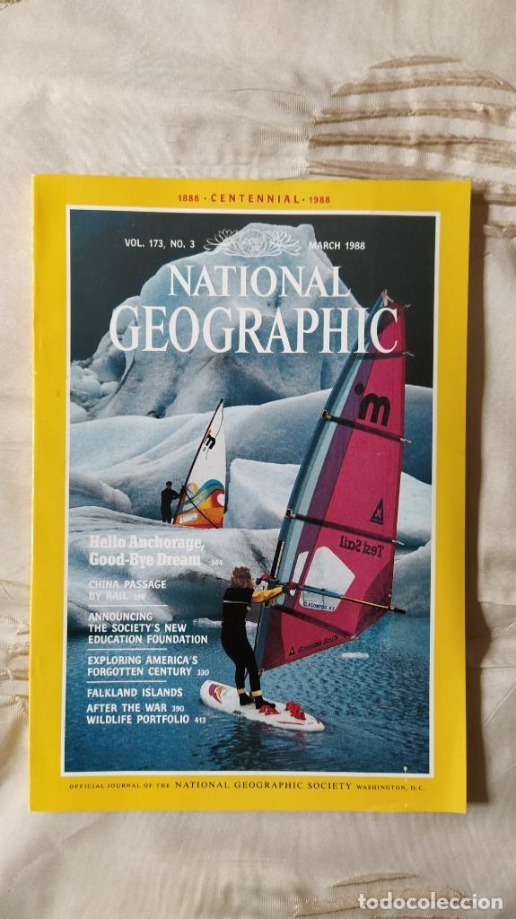 REVISTA NATIONAL GEOGRAPHIC, VOL. VOLUMEN 173, Nº 3; MARCH MARZO 1988 (EN INGLES) (Coleccionismo - Revistas y Periódicos Modernos (a partir de 1.940) - Revista National Geographic)