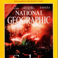 Coleccionismo de National Geographic: REVISTA NATIONAL GEOGRAPHIC AGOSTO 2000 JUEGOS OLIMPICOS SYDNEY MAPA SYDNEY Y OTRO G.B.. Lote 252361760