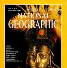 Coleccionismo de National Geographic: REVISTA NATIONAL GEOGRAPHIC NOV 1999 SACRIFICIO INCA. Lote 252365410