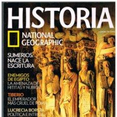 Coleccionismo de National Geographic: HISTORIA NATIONAL GEOGRAPHIC Nº 79, SANTIAGO DE COMPOSTELA, LUCRECIA BORGIA, SUMERIOS, EGIPTO. Lote 257268675