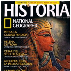 Coleccionismo de National Geographic: HISTORIA NATIONAL GEOGRAPHIC Nº 27, LOS COMUNEROS, LA TUMBA DEL FARAÓN, RITOS Y SECRETOS, ALQUIMIA. Lote 257280035