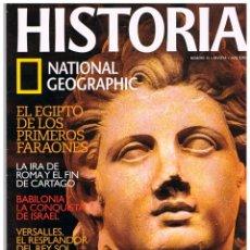 Coleccionismo de National Geographic: HISTORIA NATIONAL GEOGRAPHIC Nº 10, RICARDO CORAZÓN DE LEÓN,. BABILONIA Y LA CONQUISTA DE ISRAEL. Lote 257282245