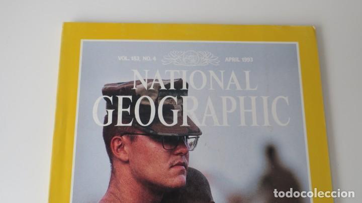Coleccionismo de National Geographic: National Geographic volumen 183 numero 4 Abril 1993 INGLES - Foto 2 - 257748170