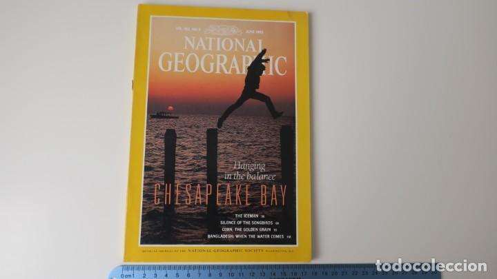 NATIONAL GEOGRAPHIC VOLUMEN 183 NUMERO 6 JUNIO 1993 INGLES (Coleccionismo - Revistas y Periódicos Modernos (a partir de 1.940) - Revista National Geographic)