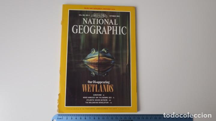 NATIONAL GEOGRAPHIC VOLUMEN 182 NUMERO 4 OCTUBRE 1992 INGLES (Coleccionismo - Revistas y Periódicos Modernos (a partir de 1.940) - Revista National Geographic)