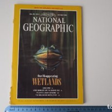 Coleccionismo de National Geographic: NATIONAL GEOGRAPHIC VOLUMEN 182 NUMERO 4 OCTUBRE 1992 INGLES. Lote 257748390