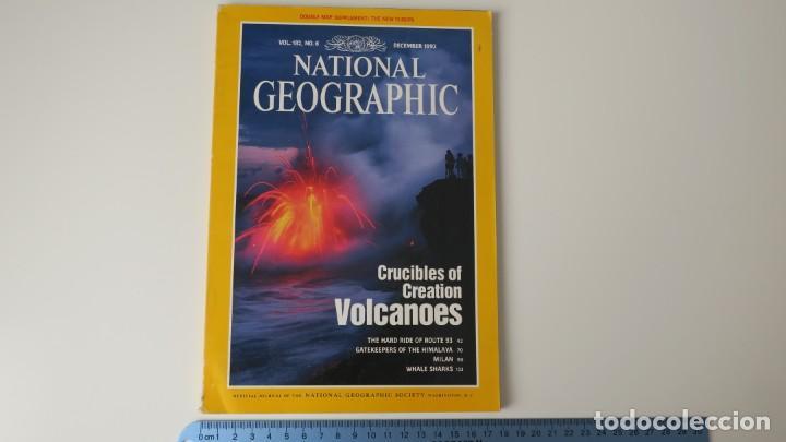 NATIONAL GEOGRAPHIC VOLUMEN 182 NUMERO 6 DICIEMBRE 1992 INGLES (Coleccionismo - Revistas y Periódicos Modernos (a partir de 1.940) - Revista National Geographic)