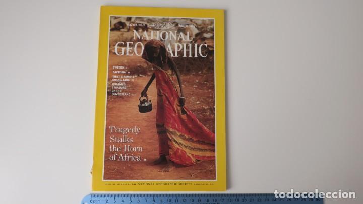 NATIONAL GEOGRAPHIC VOLUMEN 184 NUMERO 2 AGOSTO 1993 INGLES (Coleccionismo - Revistas y Periódicos Modernos (a partir de 1.940) - Revista National Geographic)