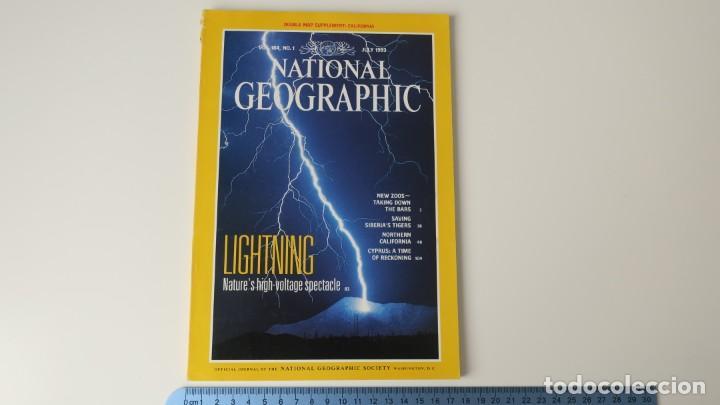 NATIONAL GEOGRAPHIC VOLUMEN 184 NUMERO 1 JULIO 1993 INGLES (Coleccionismo - Revistas y Periódicos Modernos (a partir de 1.940) - Revista National Geographic)
