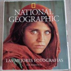 Coleccionismo de National Geographic: 2 LIBROS DE NATIONAL GEOGRAPHIC - LAS MEJORES FOTOGRAFIAS Y ÓRBITA - LOS ASTRONAUTAS DE LA NASA FOTO. Lote 258107360