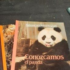 Coleccionismo de National Geographic: LOTE DOS LIBROS EXPLOREMOS CON LA NATIONAL GEOGRAPHIC CRIATURAS DE LA NOCHE Y CONOZCAMOS EL PANDA. Lote 259210860