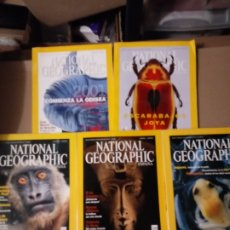 Coleccionismo de National Geographic: 6 REVISTAS NATIONAL GEOGRAPHIC EN-JUNIO 2001 CON FUNDA.. Lote 260745870