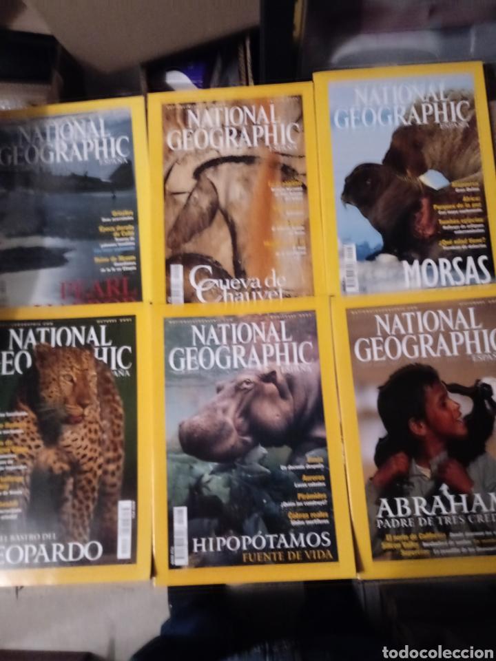 6 REVISTAS DE NATIONAL GEOGRAPHIC DE JUL A DICIEMBRE 2001 CON FUNDA PROTECTORA. (Coleccionismo - Revistas y Periódicos Modernos (a partir de 1.940) - Revista National Geographic)