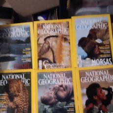 Coleccionismo de National Geographic: 6 REVISTAS DE NATIONAL GEOGRAPHIC DE JUL A DICIEMBRE 2001 CON FUNDA PROTECTORA.. Lote 260746845