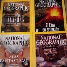 Coleccionismo de National Geographic: 4 REVISTAS EN.FEB MAYO Y JUNIO 2002 NATIONAL GEPGRAPHIC Y FUNDA. Lote 260748770