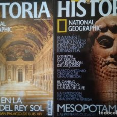 Coleccionismo de National Geographic: LOTE 2 REVISTAS HISTORIA NATIONAL GEOGRAPHIC NOS, 20 Y 61. Lote 261192860