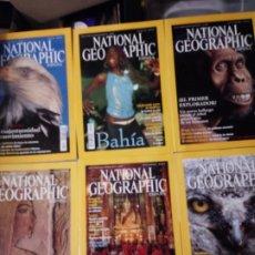 Coleccionismo de National Geographic: 6 REVISTAS NATIONAL GEOGRAPHIC JUL A DIC 2002.CON FUNDA ARCHIVADOR.. Lote 261228385
