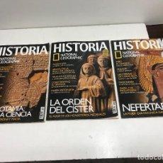 Coleccionismo de National Geographic: LOTE 3 REVISTAS HISTORIA Nº 30 - 31 - 32 AÑO 2006 NATIONAL GEOGRAPHIC. Lote 261581345