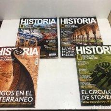 Coleccionismo de National Geographic: LOTE 4 REVISTAS HISTORIA Nº 189 - 191 - 192 - 194 AÑO 2019/2020 NATIONAL GEOGRAPHIC. Lote 261582770