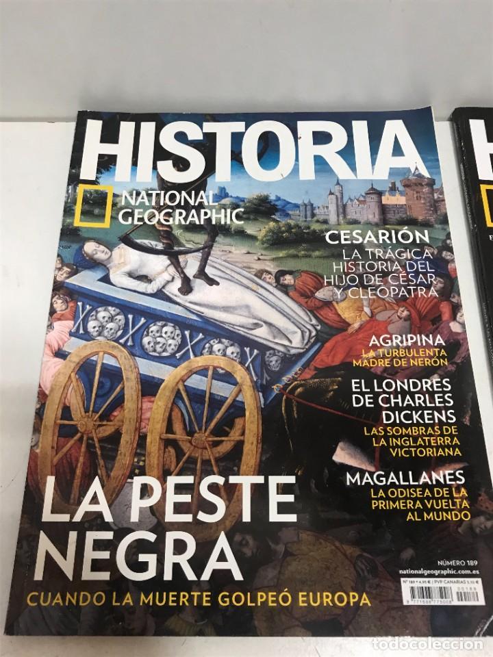 Coleccionismo de National Geographic: LOTE 4 REVISTAS HISTORIA Nº 189 - 191 - 192 - 194 AÑO 2019/2020 NATIONAL GEOGRAPHIC - Foto 2 - 261582770