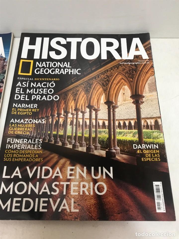 Coleccionismo de National Geographic: LOTE 4 REVISTAS HISTORIA Nº 189 - 191 - 192 - 194 AÑO 2019/2020 NATIONAL GEOGRAPHIC - Foto 3 - 261582770