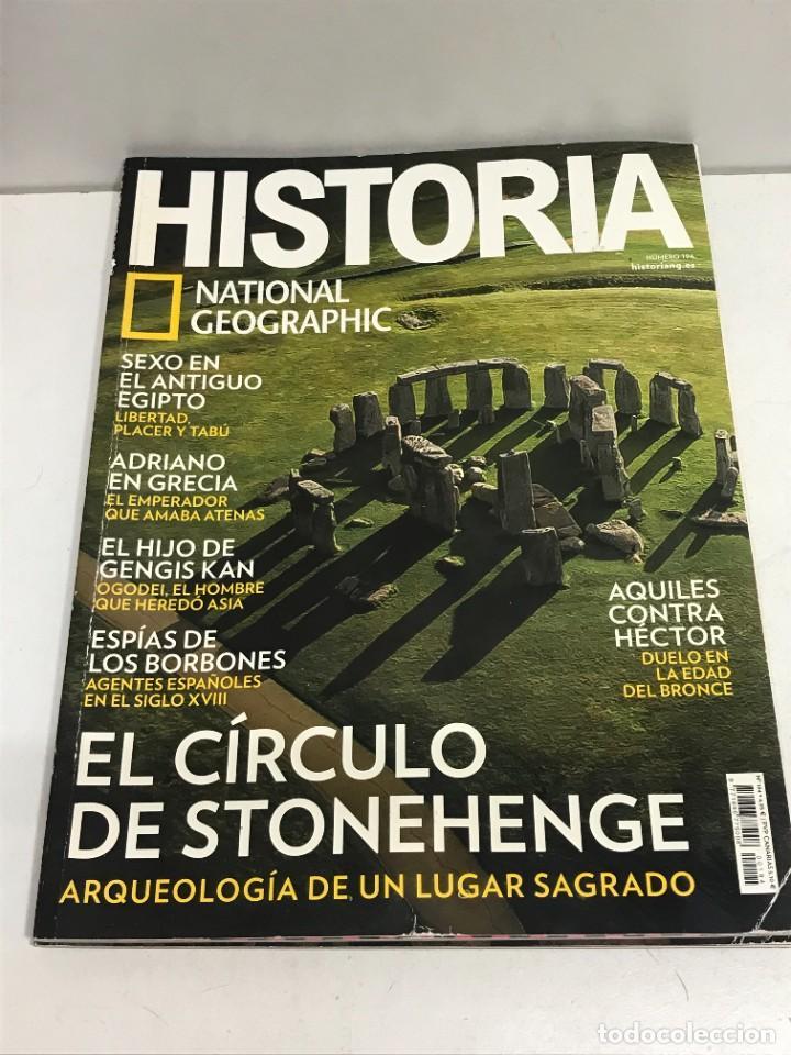 Coleccionismo de National Geographic: LOTE 4 REVISTAS HISTORIA Nº 189 - 191 - 192 - 194 AÑO 2019/2020 NATIONAL GEOGRAPHIC - Foto 5 - 261582770