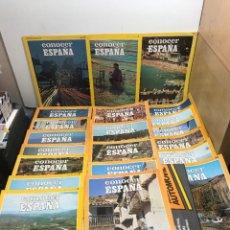 Coleccionismo de National Geographic: LOTE 21 FASCÍCULOS CONOCER ESPAÑA Y GUIA SALVAT.. Lote 261584375