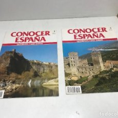 Coleccionismo de National Geographic: LOTE 2 FASCÍCULOS CONOCER ESPAÑA Nº 5 Y 6. Lote 261584860
