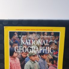 Coleccionismo de National Geographic: NATIONAL GEOGRAPHIC/ VOL.156 , N°4 / OCTOBER 1979 / INGLES / ( REF.N.G.2). Lote 262070750