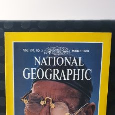 Coleccionismo de National Geographic: NATIONAL GEOGRAPHIC/ VOL.157. N°3 / MARCH 1980 / INGLES / ( REF.N.G.2). Lote 262071315