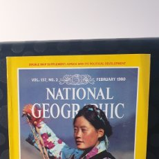 Coleccionismo de National Geographic: NATIONAL GEOGRAPHIC/ VOL.157, N°2 / FEBRUARY 1980 / INGLES / ( REF.N.G.2). Lote 262072170