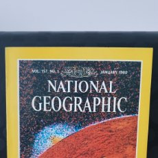 Coleccionismo de National Geographic: NATIONAL GEOGRAPHIC / VOL.157; N°1 / JANUARY 1980 / INGLES / ( REF.N.G.2). Lote 262072505