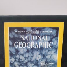 Coleccionismo de National Geographic: NATIONAL GEOGRAPHIC/ VOL 159; N°1 / JANUARY 1981 / INGLES / ( REF.N.G.2). Lote 262072640
