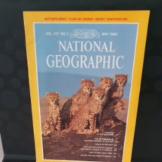 Coleccionismo de National Geographic: NATIONAL GEOGRAPHIC/ VOL. 157 N°5 / MAY 1980 / INGLES / ( REF.N.G.2). Lote 262073055