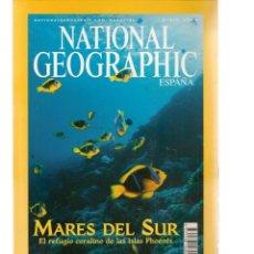 Coleccionismo de National Geographic: NATIONAL GEOGRAPHIC. MARES DEL SUR. MARZO, 2004. (ST/B16). Lote 262896845
